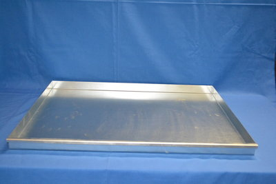 403 metalen lade 90 cm diep x 90 cm breed